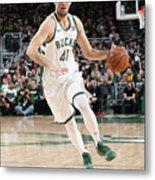 Detroit Pistons V Milwaukee Bucks - Metal Print