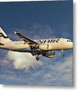 Finnair Airbus A319-112 Metal Print
