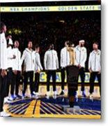 Houston Rockets V Golden State Warriors Metal Print
