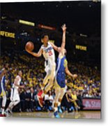 La Clippers V Golden State Warriors - Metal Print