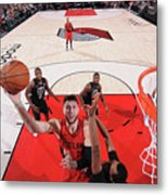 Milwaukee Bucks V Portland Trail Blazers Metal Print