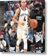 Minnesota Timberwolves V Memphis Metal Print