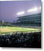 Philadelphia Phillies V Chicago Cubs Metal Print