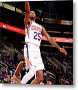 San Antonio Spurs V Phoenix Suns Metal Print