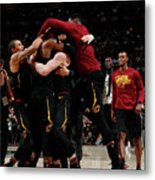 Toronto Raptors V Cleveland Cavaliers - Metal Print