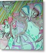 Kintu And Nambi Folktale Metal Print