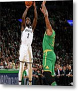 Brooklyn Nets V Boston Celtics Metal Print