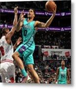 Chicago Bulls V Charlotte Hornets Metal Print