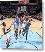 Chicago Bulls V Memphis Grizzlies Metal Print