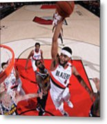 Denver Nuggets V Portland Trail Blazers Metal Print