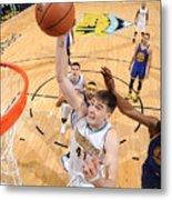 Golden State Warriors V Denver Nuggets Metal Print