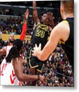 Houston Rockets V Los Angeles Lakers Metal Print