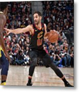 Indiana Pacers V Cleveland Cavaliers - Metal Print