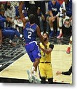 Los Angeles Lakers V La Clippers Metal Print