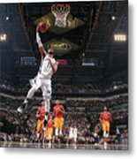 Memphis Grizzlies V Indiana Pacers Metal Print
