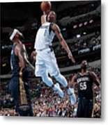 New Orleans Pelicans V Dallas Mavericks Metal Print