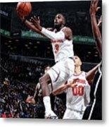 New York Knicks V Brooklyn Nets Metal Print
