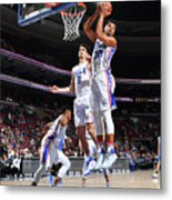 Philadelphia 76ers V Orlando Magic Metal Print