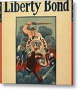 Wartime Propaganda Poster Metal Print