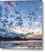 Danvers River Sunset Metal Print