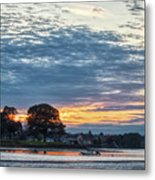 Danvers River Sunset Metal Print
