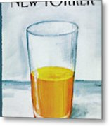 A Bit Of Oj To Start The Day Metal Print