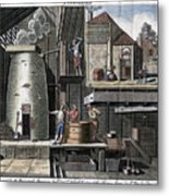 A Brewhouse, 1747 Metal Print