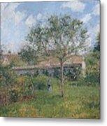 A Corner Of The Meadow At Eragny, 1902 Metal Print