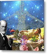 A Dream For Dr Freud Metal Print