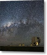 A Galactic View From The Observation Deck Metal Print