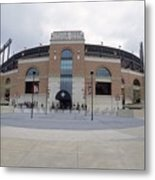 A General View Of Oriole Park At Camden Metal Print