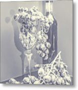 A Grape Gala Metal Print