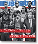 A Nation Divided, Sports United Sports Illustrated Cover Metal Print