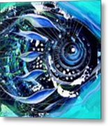 A New Breed In Blues Metal Print