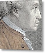 A Portrait Of Immanuel Or Emmanuel Kant Metal Print