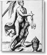 A Representation Of October, 1757 Metal Print