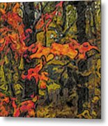 A Time In The Woods Metal Print