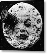A Trip To The Moon, 1902  Metal Print