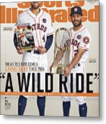 A Wild Ride The Astros Have Come A Long Way Since 2014, And Sports Illustrated Cover Metal Print