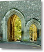 Abbey Gateway St Albans Hertfordshire Metal Print