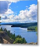Above The Waters Metal Print
