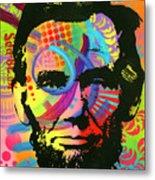 Abraham Lincoln Yeah Bro Metal Print