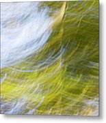 Abstract Close Up Of Trees Metal Print