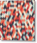 Abstract Geometric Background For Metal Print