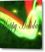 Abstract Holiday Metal Print