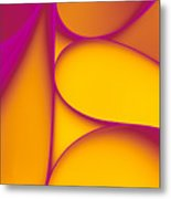 Abstract Paper Background Metal Print