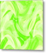 Abstract Waves Painting 0010076 Metal Print