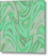 Abstract Waves Painting 0010092 Metal Print
