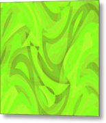 Abstract Waves Painting 0010093 Metal Print
