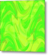 Abstract Waves Painting 0010099 Metal Print